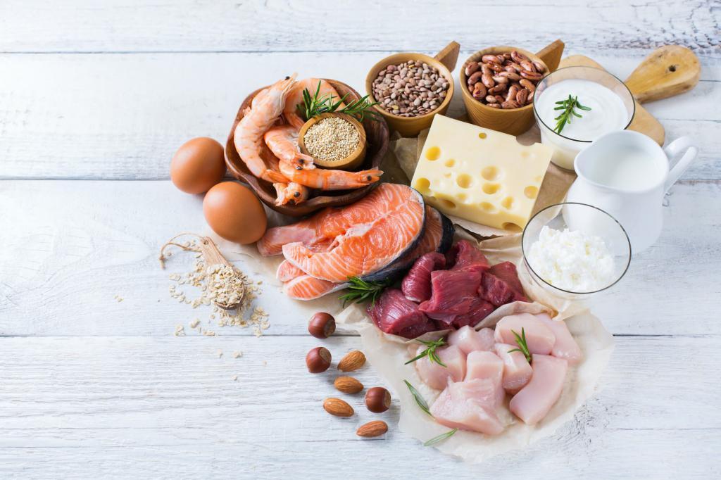 Аминокислоты в пище