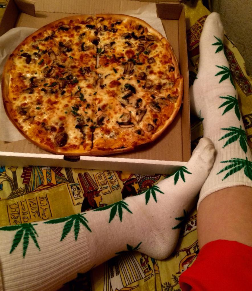 """пицца с доставкой из кафе """"Радуга"""""""