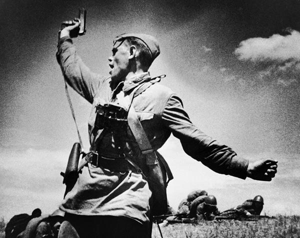 отвага советских воинов