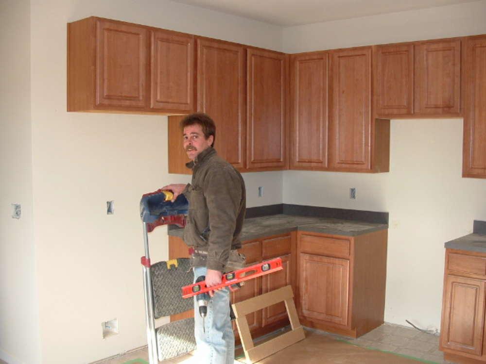 готовые верхние модули угловой кухни