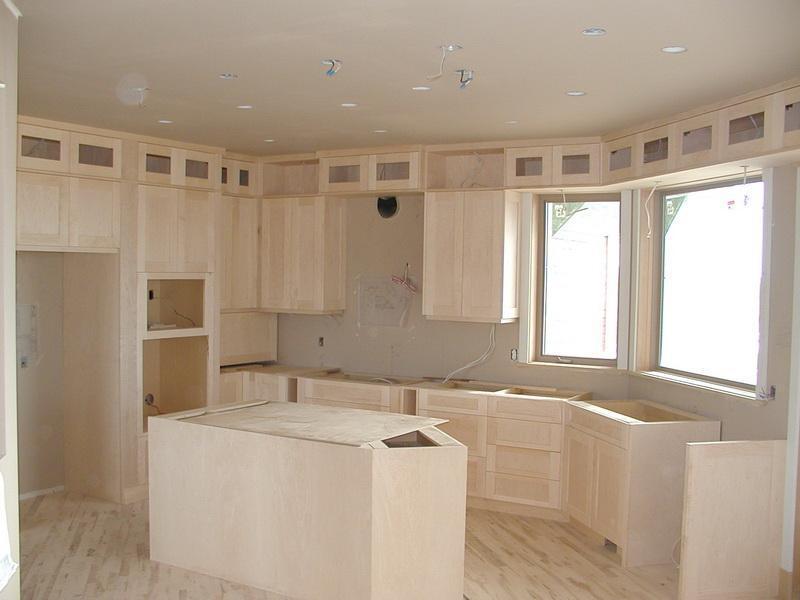 кухня без столешницы