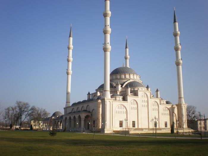 мечеть гудермеса