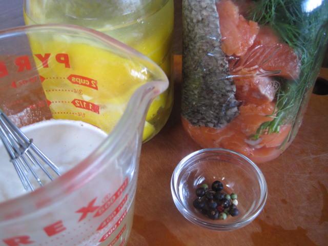 Рассол для рыбы