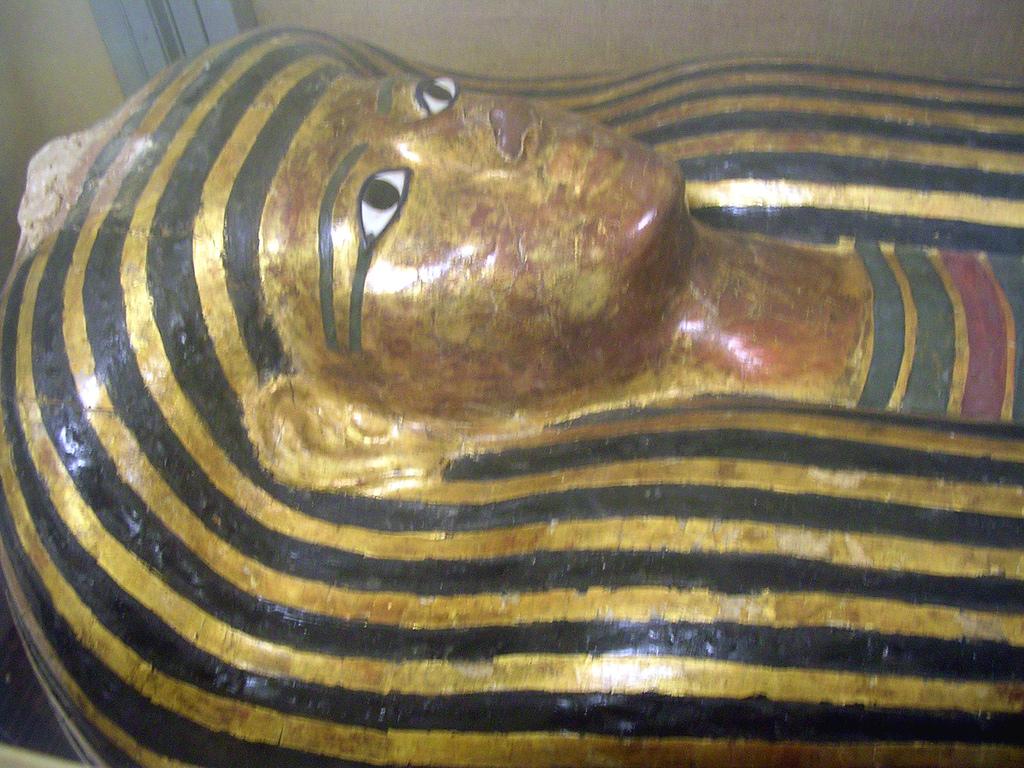 Саркофаг из Древнего Египта