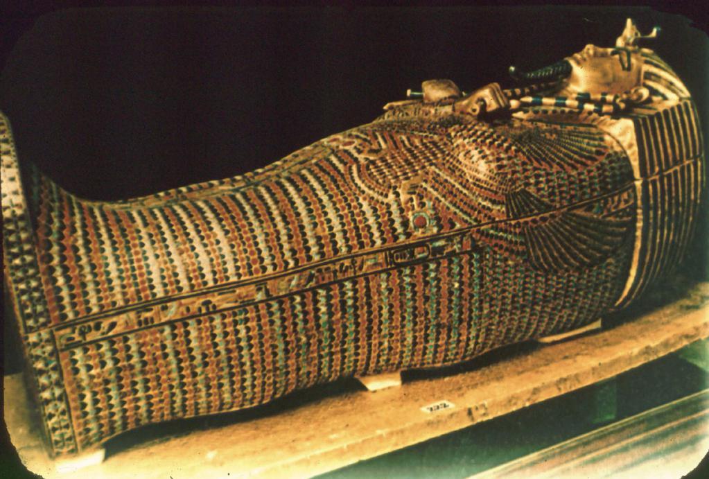 Саркофаг - подлинное произведение искусства