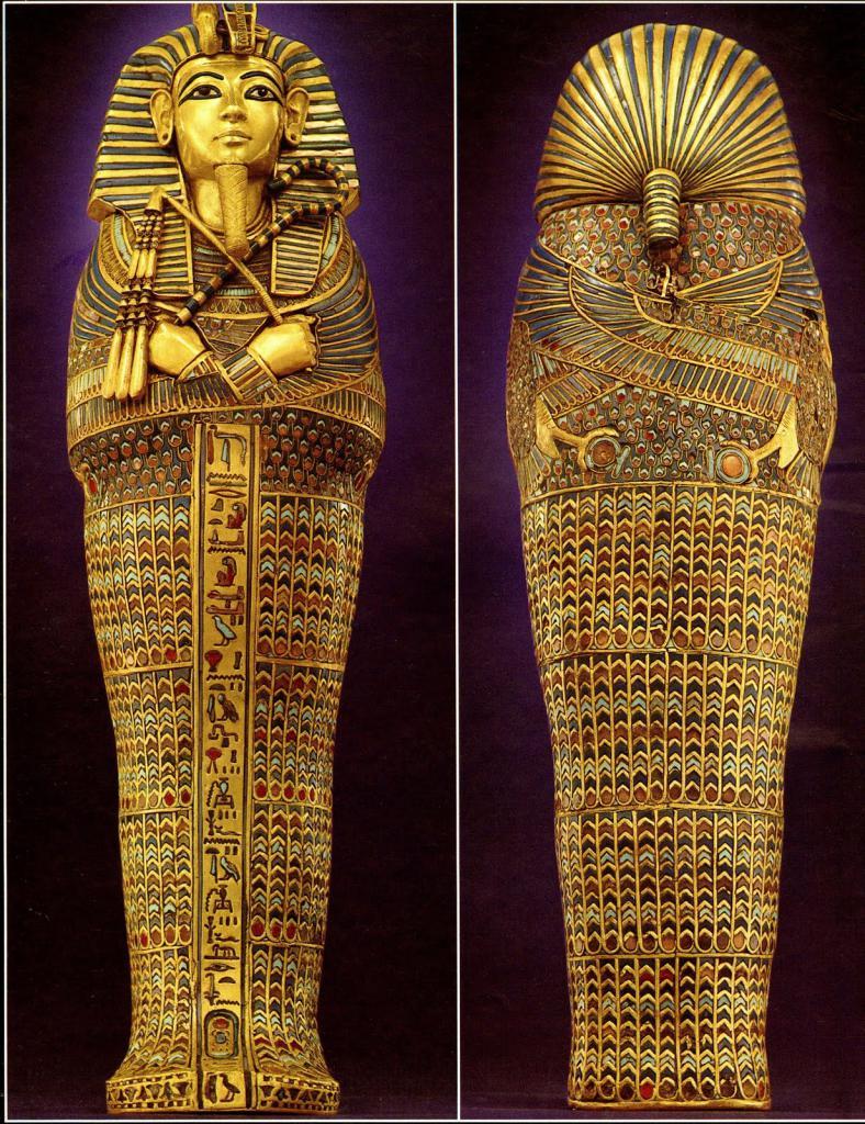 Находка из гробницы Тутанхамона
