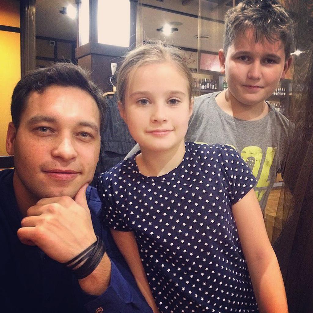 каримов стас с дочерью