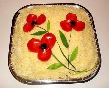 салат мужские грезы классический рецепт