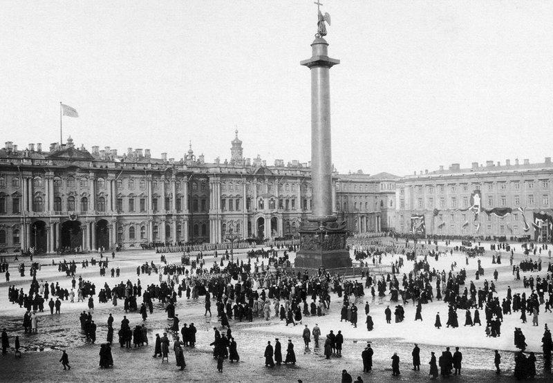 Дворцовая 1917 год