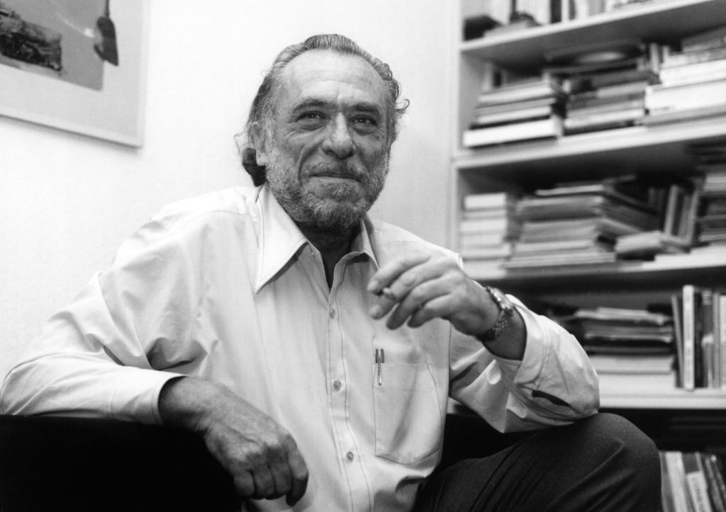 Американский писатель Чарльз Буковски