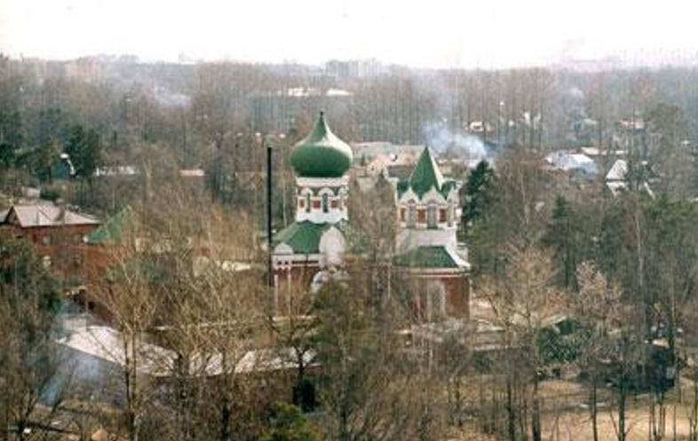 поклонная гора спб церковь