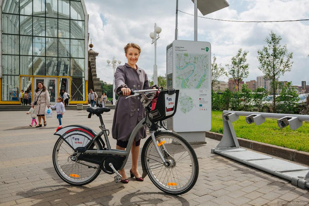 как работает прокат велосипедов велобайк в москве