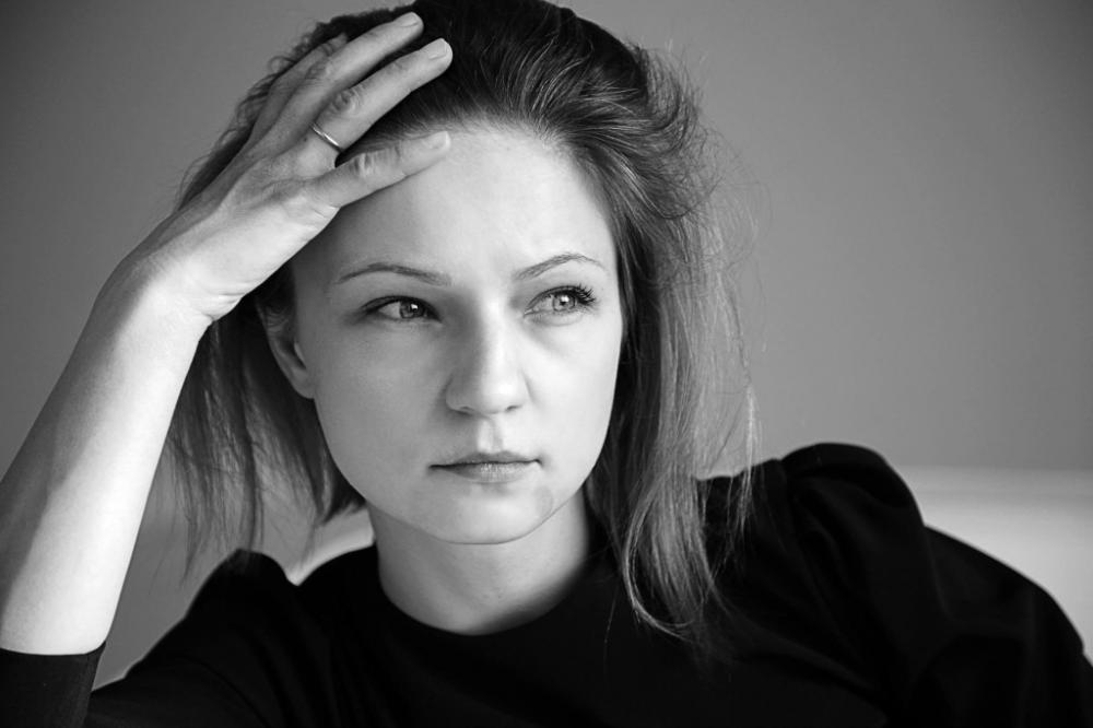 Актриса Озоллапиня Ольга