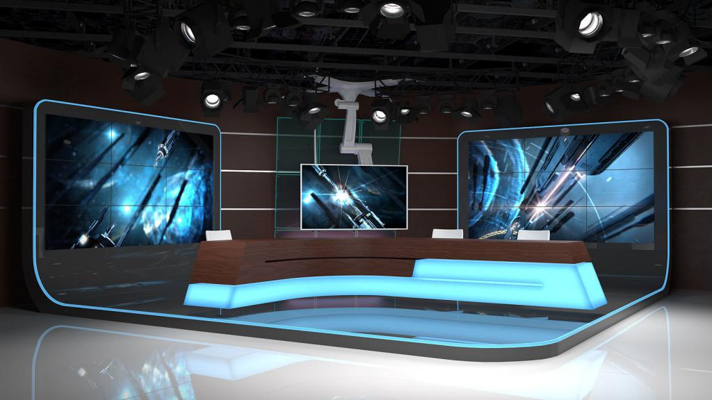 Виртуальная студия для эфира