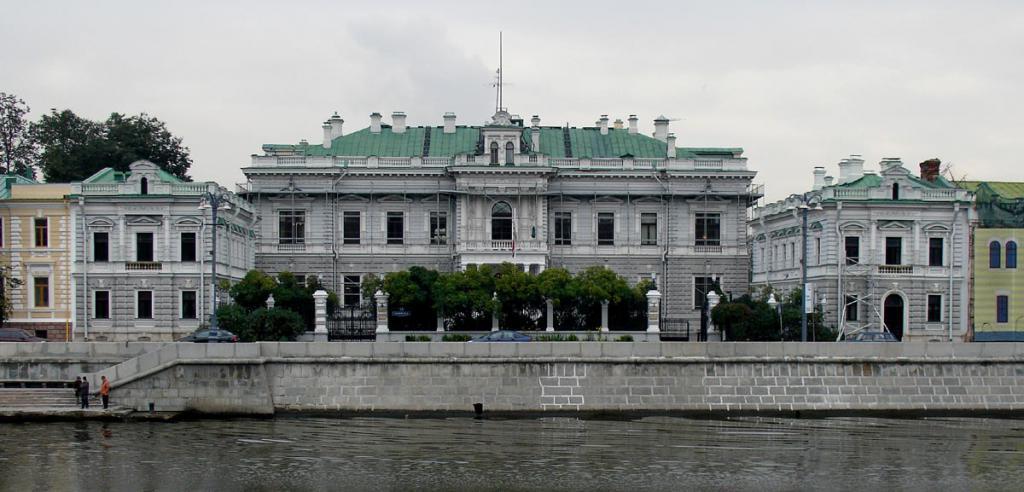 Посольство Англии в России