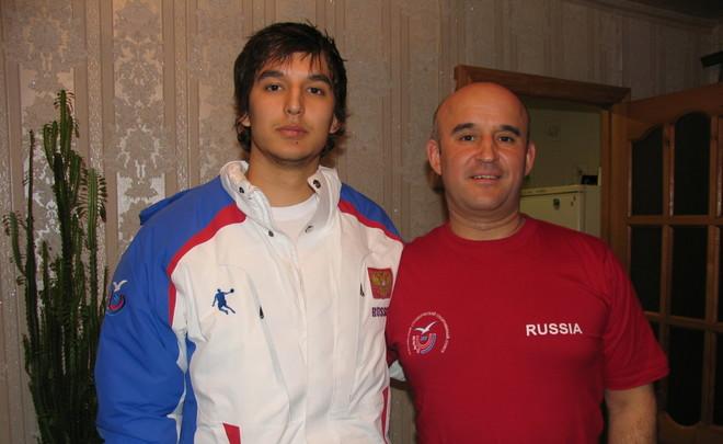 Эмиль Гарипов и его отец