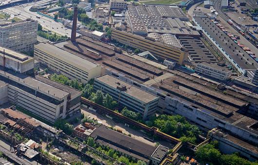 территория завода Знамя