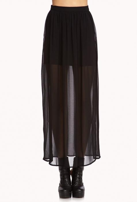 Двойная юбка из шифона своими руками 4