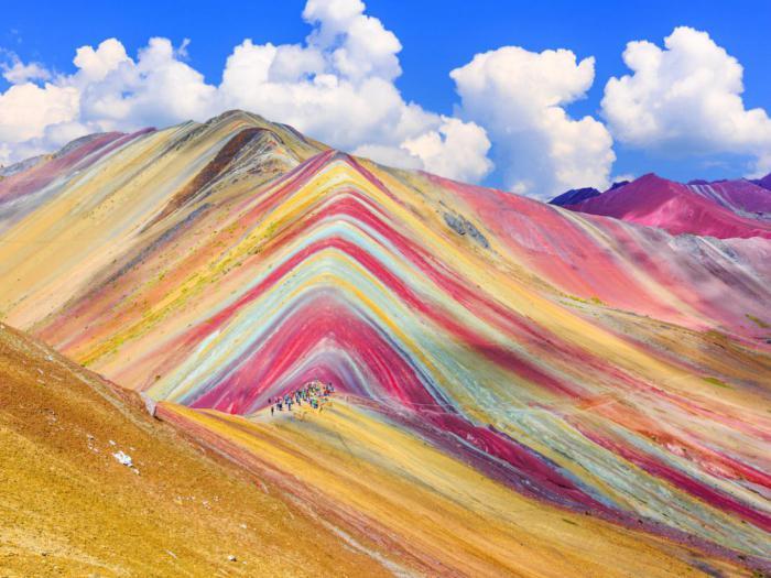 радужная гора