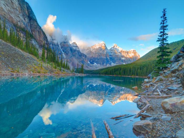 красивый канадский парк