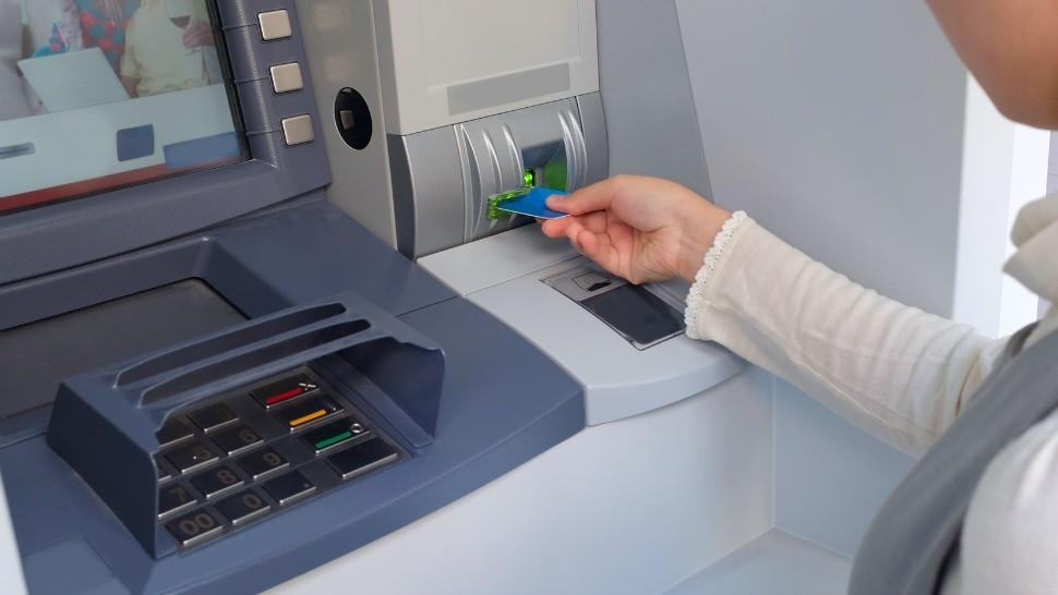 банкомат снять