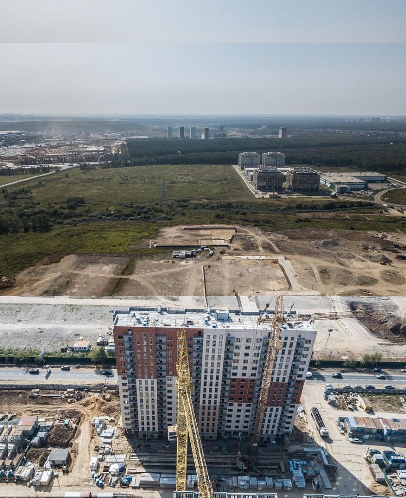 Ход строительства ЖК Румянцево Парк
