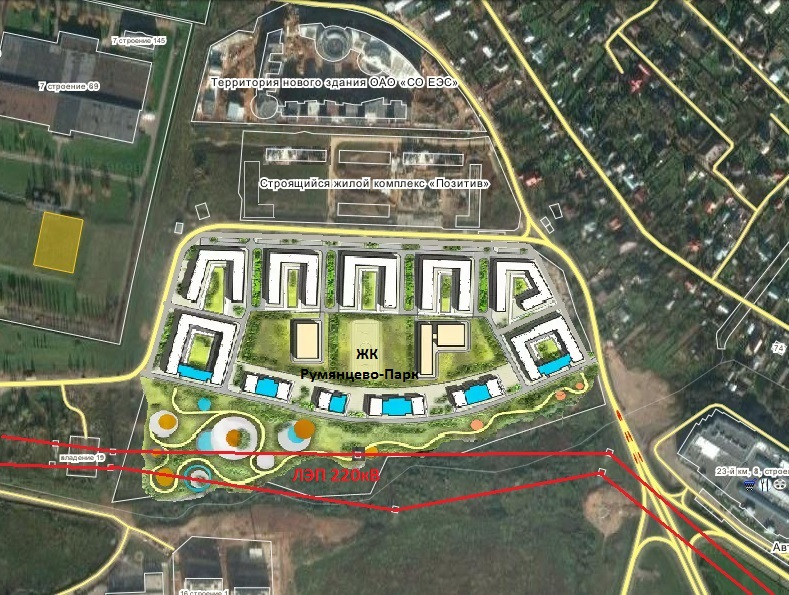 планировка жилого комплекса