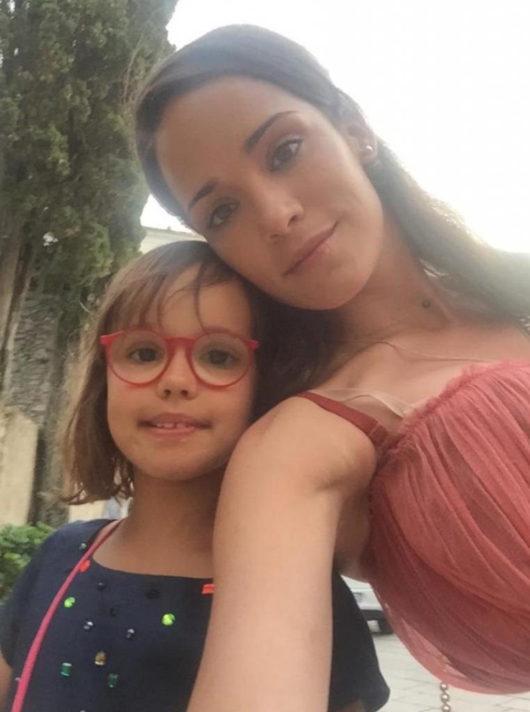 Маша Ржевская с дочерью