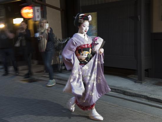 образ гейши