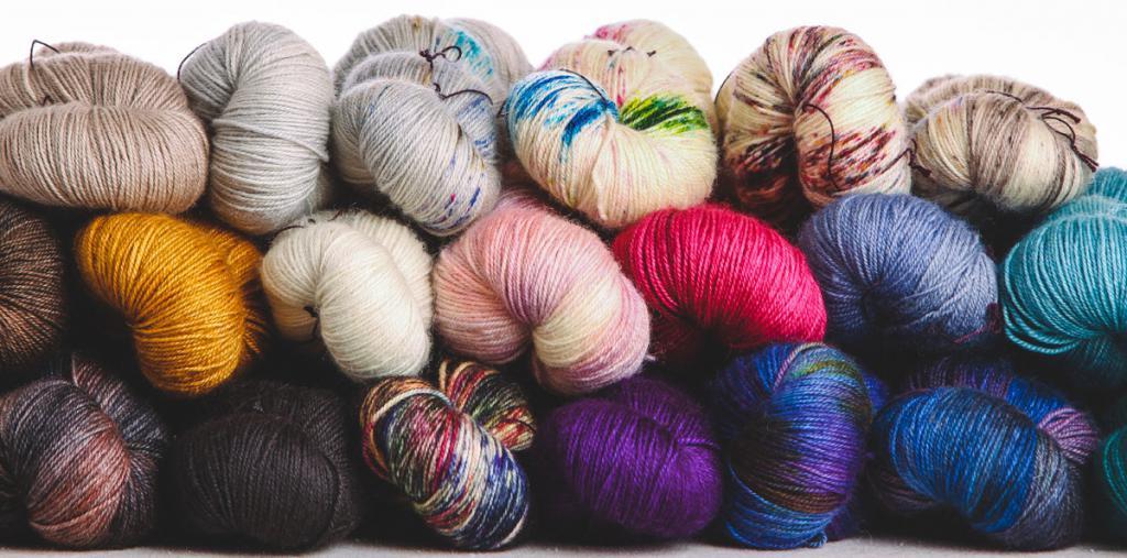 Синтетические нити для вязания