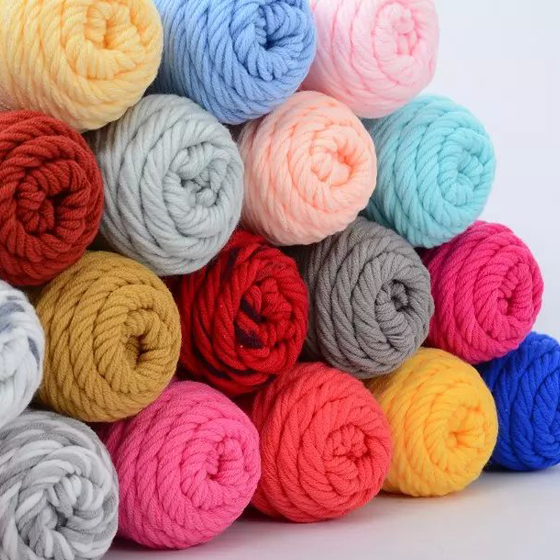 Хлопковые нити для вязания