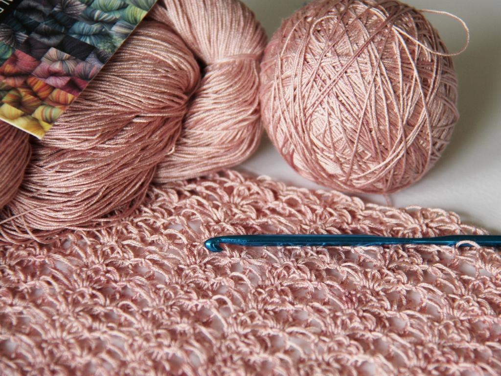 Шелковые нити для вязания
