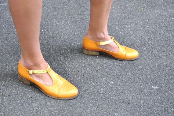 туфли с венским каблуком