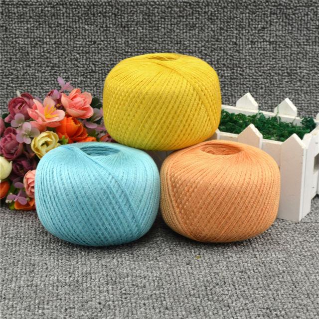 Льняные нити для вязания