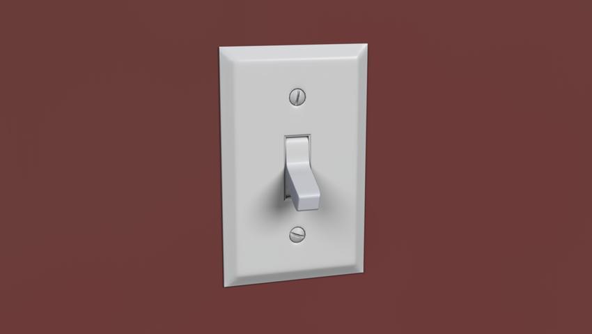 Классический выключатель