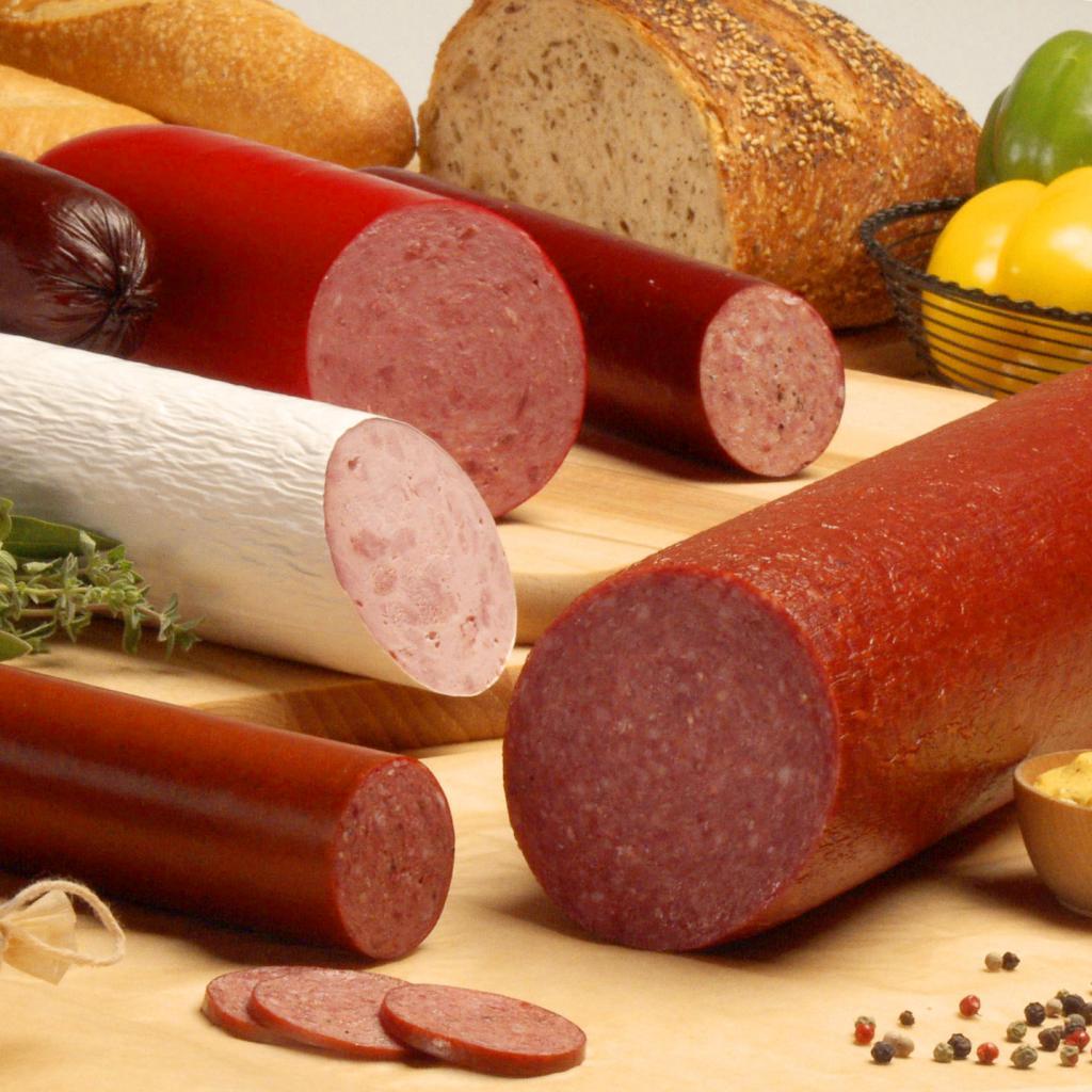 виды колбасных изделий названия