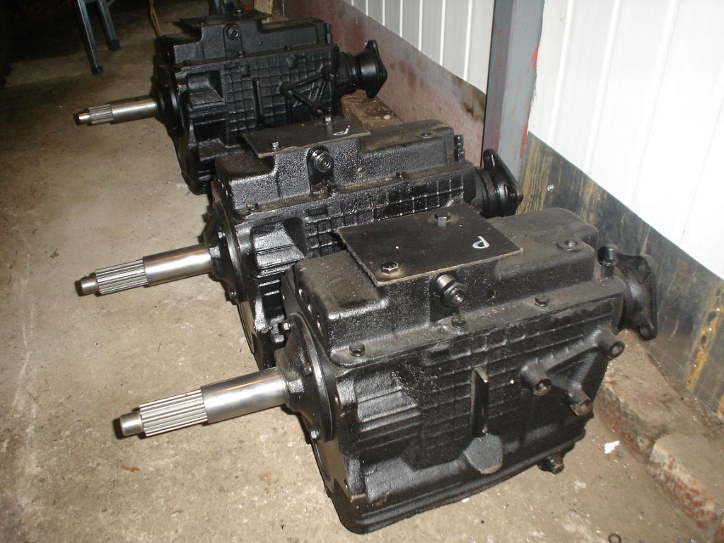 Устройство коробки переключения передач ЗИЛ-130
