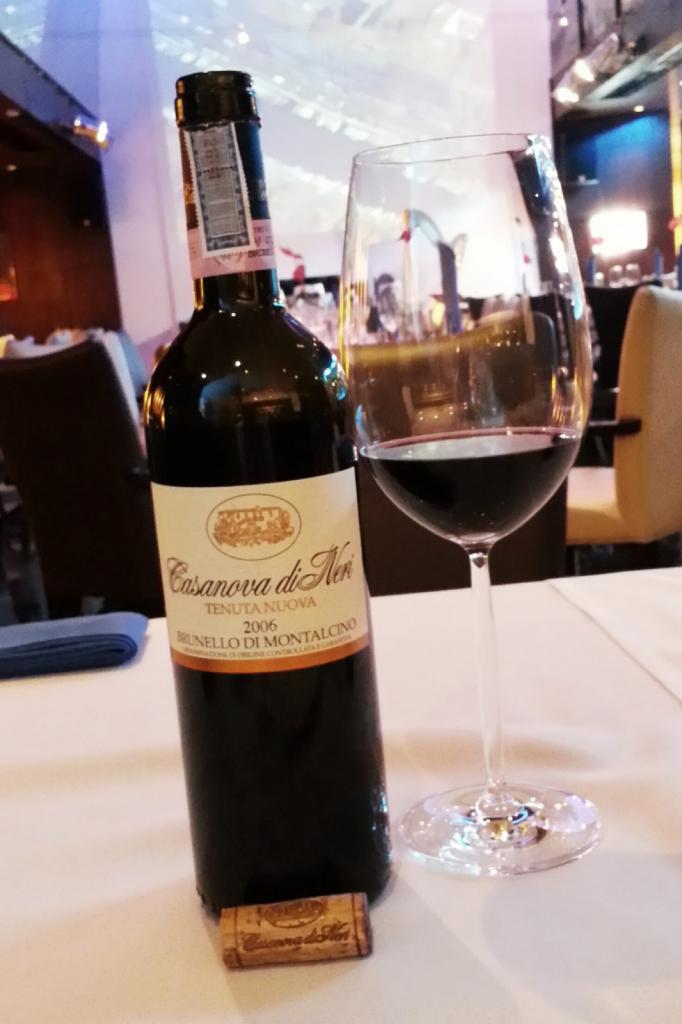 Красное вино Брунелло