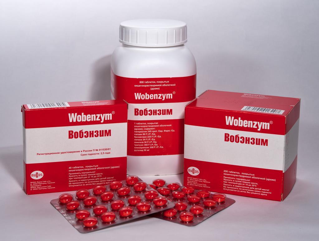 Вобэнзим в лечении гломерулонефрита