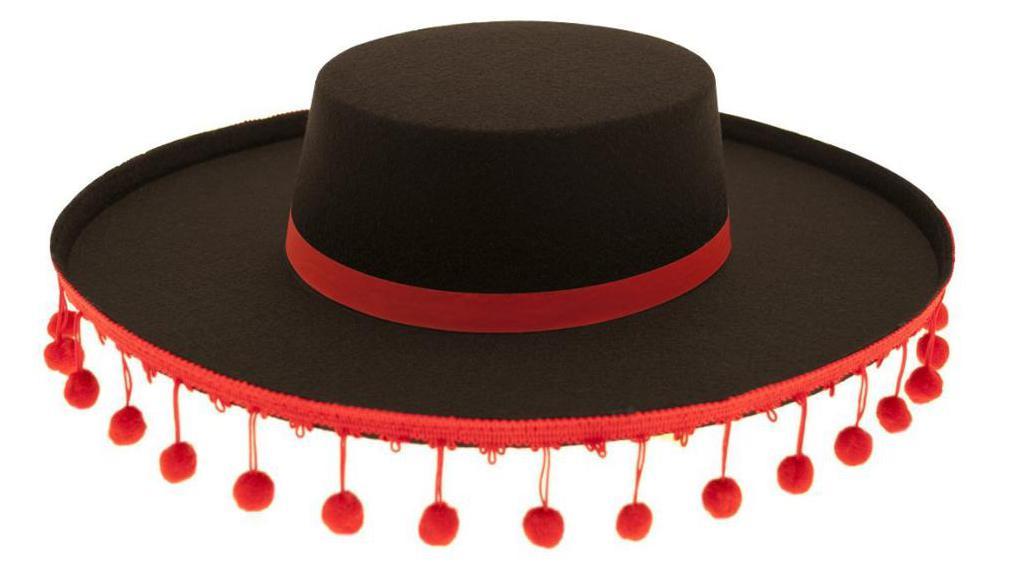 Шляпа для детского костюма тореадора