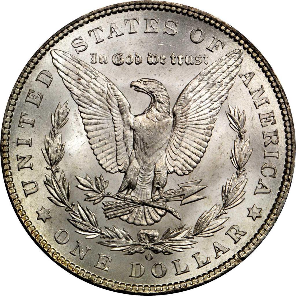 орел доллар моргана