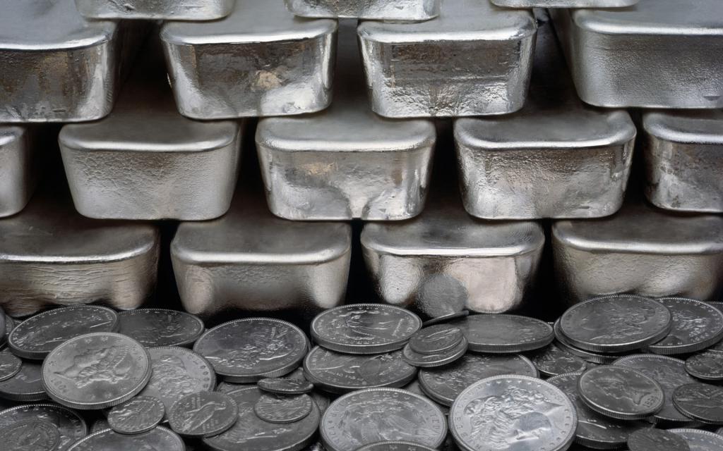 монеты и серебро