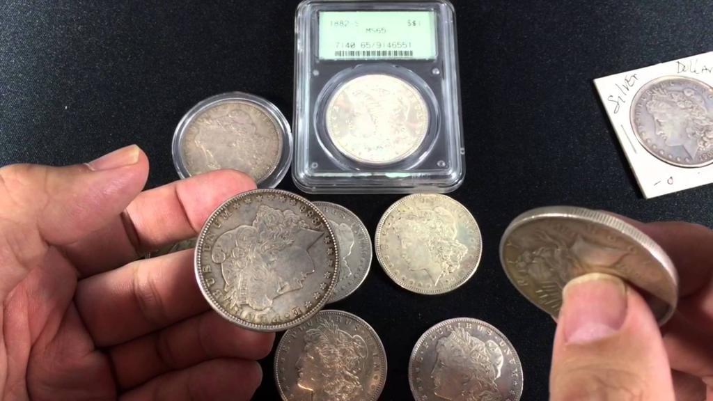 сравнивание монет