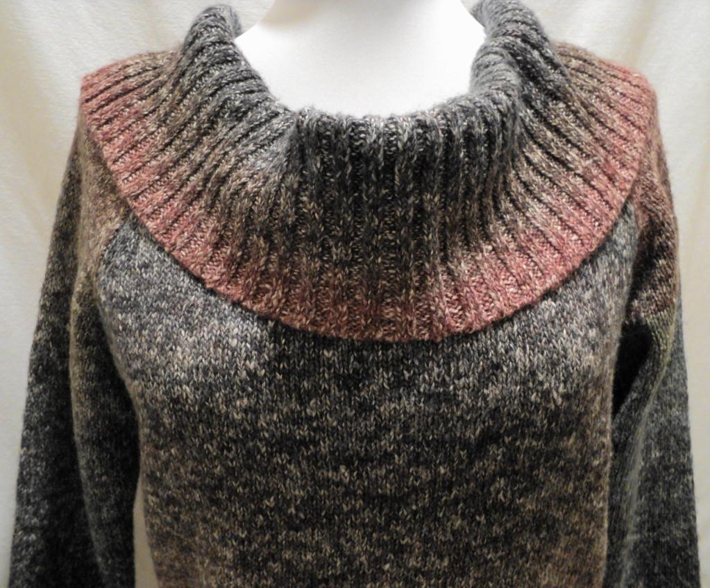 свитер из натуральной шерсти