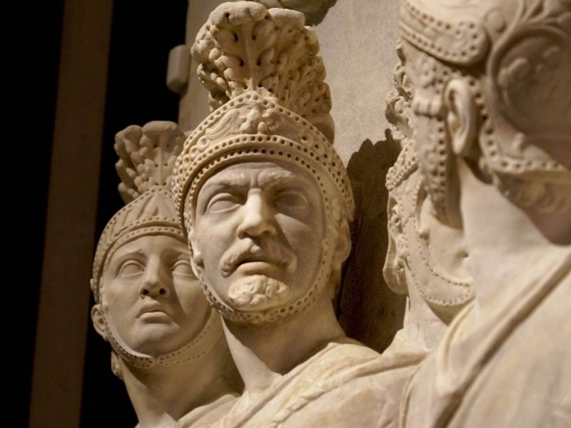 Скульптура древних римлян