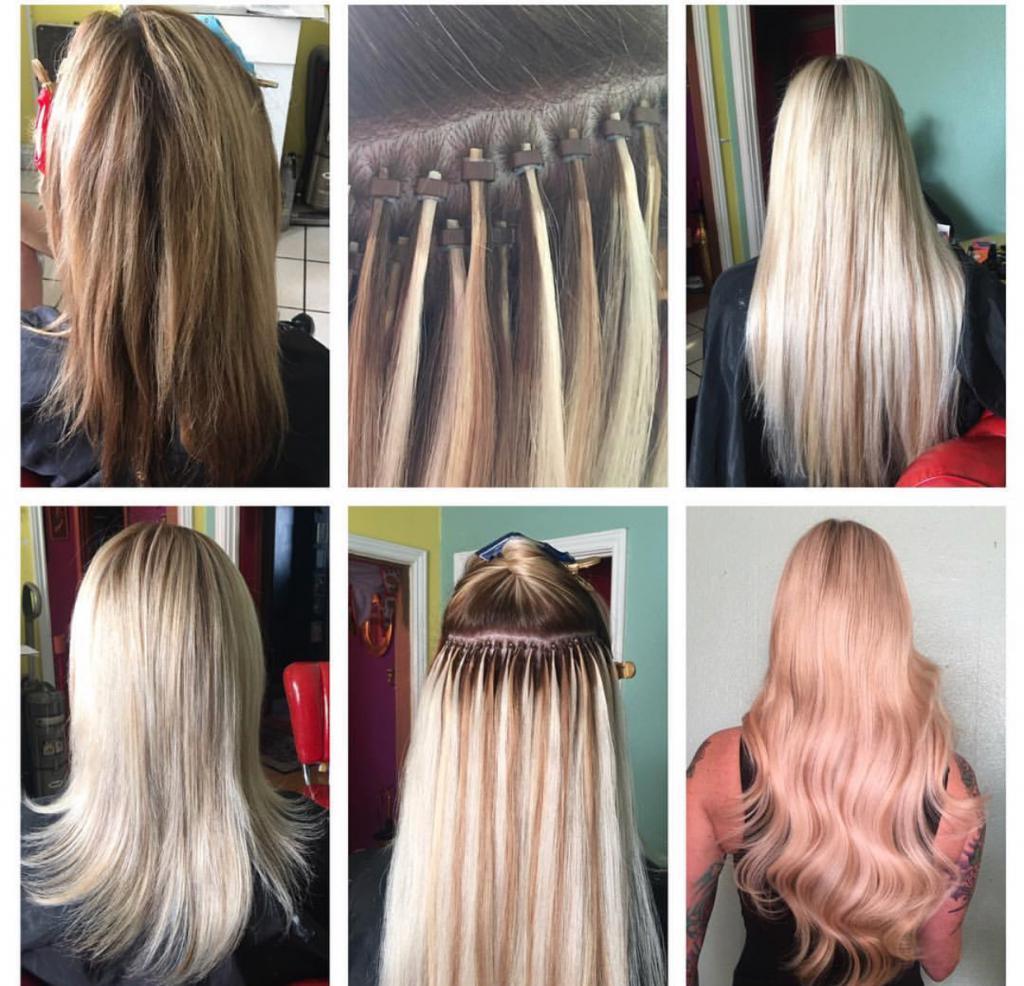 стоимость наращивания волос