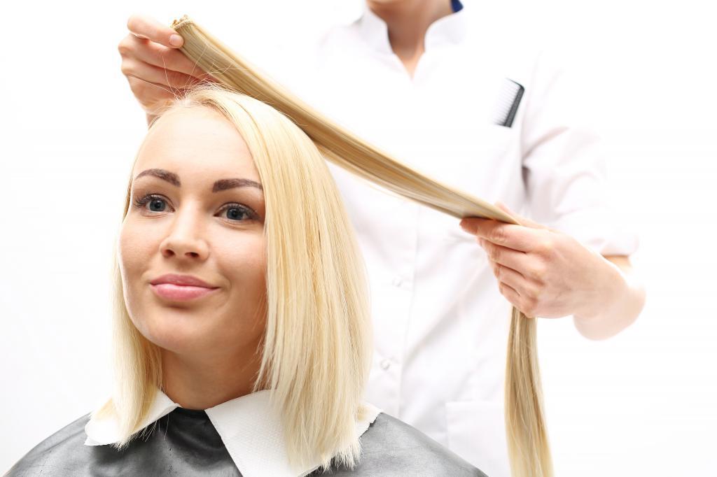 домашнее наращивание волос