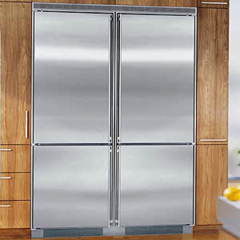 Встроенный холодильник Liebherr Side By Side