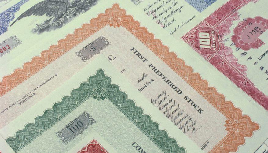 примеры ценных бумаг