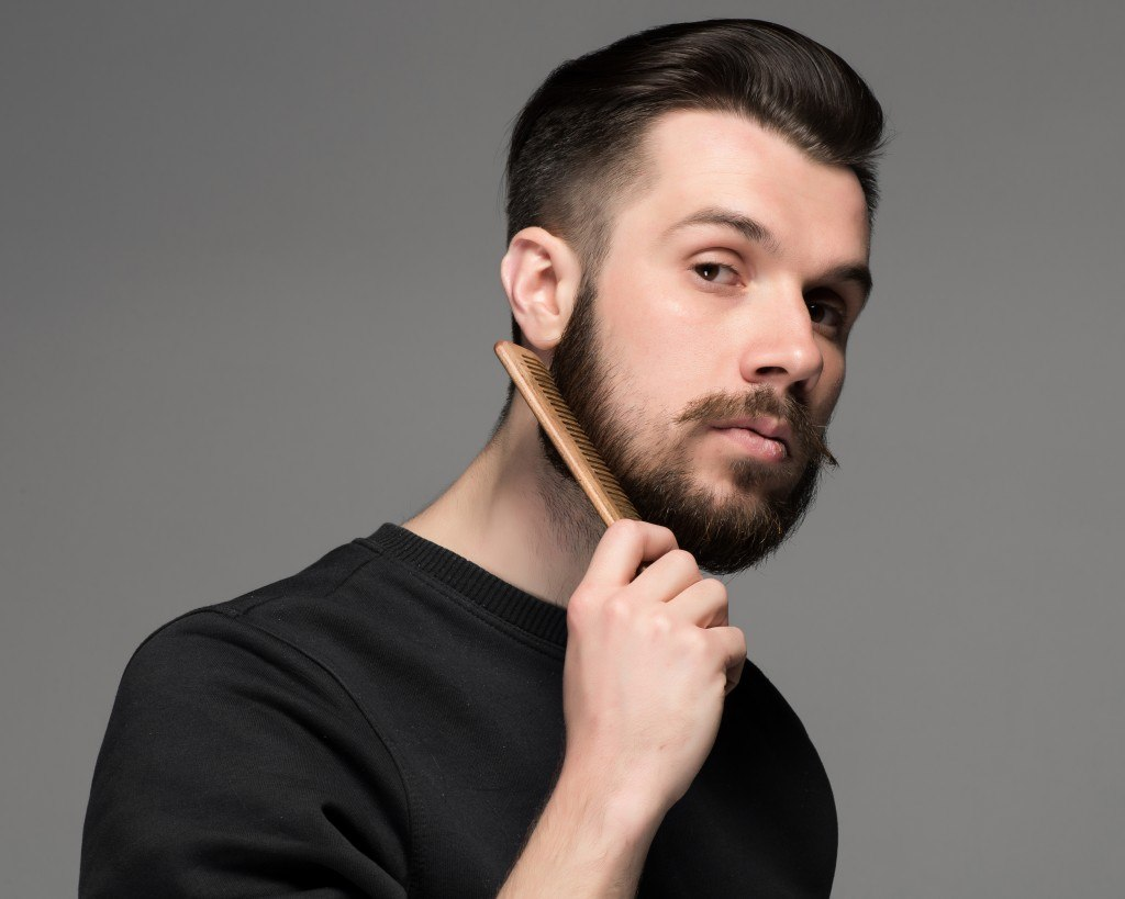 Гребень для бороды
